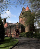 exterior shot of Pollokshields Burgh Hall